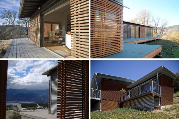 Houses for those who love environment