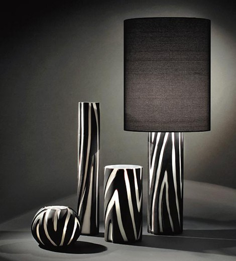 Vivarini animal print lamp from Formia