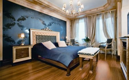luxurious victorian bedroom interior by paul begun. Black Bedroom Furniture Sets. Home Design Ideas