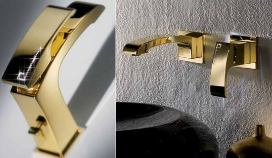 Limited edition Swarovski-studded X-Sense faucets