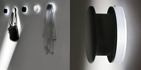 Alone Illuminating Coat Hook