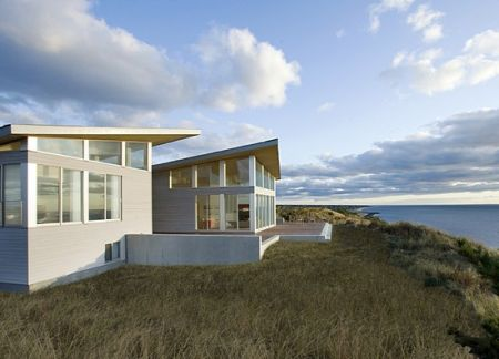 Modern Solar Powered Beach House