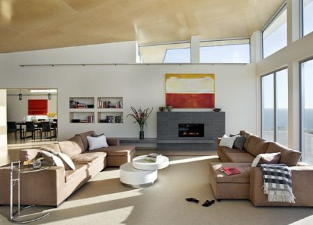 Modern Solar Powered Beach House