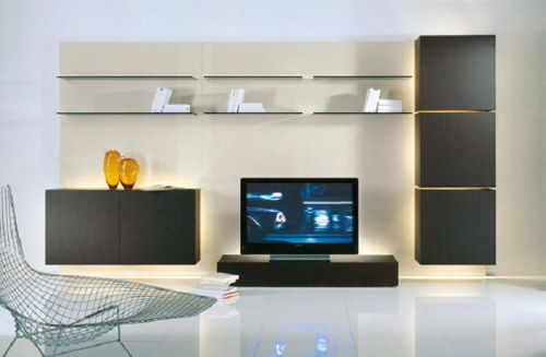 ... Life Modern TV Storage Wall Unit By Acerbis International