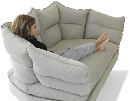 The Coussin Sofa by Inga Sempé