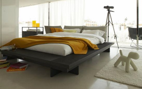 Maly Platform Bed by Ligne Roset