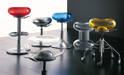 Colorful and versatile bar stool designs from Delight