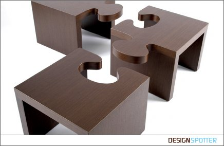 Modern furniture collection from The Home Key  Puzzle by Patou Fine Art &  Design