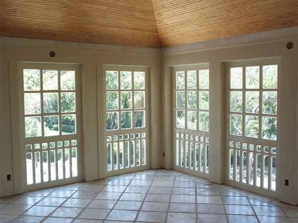 Sunroom design ideas for Sunroom interior walls