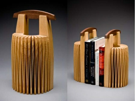 Abanico and Stonehenge Bookends by Seth Rolland