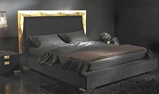 Black a perfect color for the bedroom furniture no for Mens black bedroom furniture