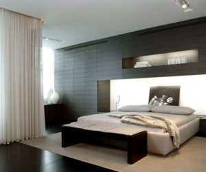 Black – a perfect color for the bedroom furniture no matter what style you choose