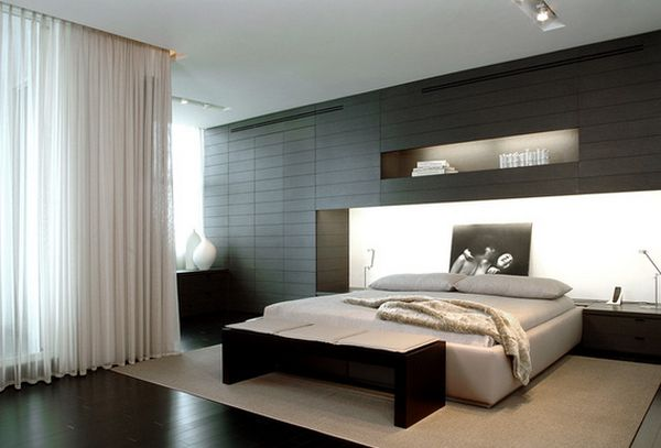 Black – a perfect color for the bedroom furniture no matter ...