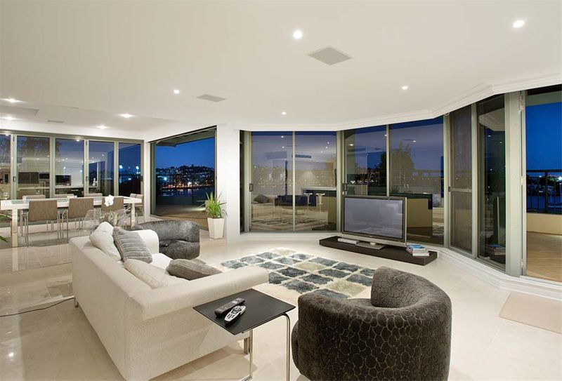 High Quality Fully Equipped Penthouse With Magnificent Views Of The Brisbane River Nice Look