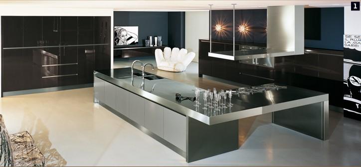 Modular kitchen designs from comprex for Italian modular kitchen designs