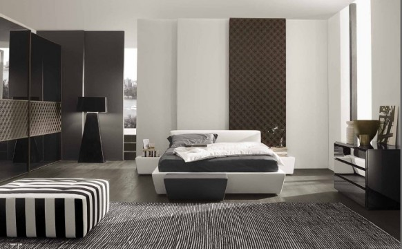Classy bedrooms from mobileffe for Matrimonial bedroom design