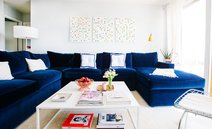 Nice How To Decorate With Oversized Sofas