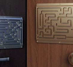 Finger Lock Door Handle - Labyrinth-security-door-chain