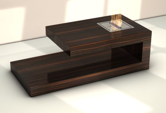 FIRE coffee table by Axel Schaefer