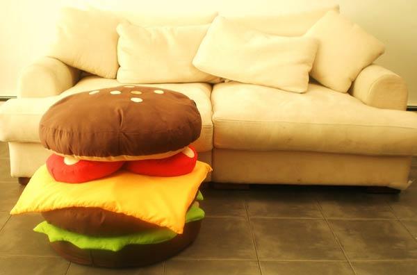Hamburger Scatter Cushions