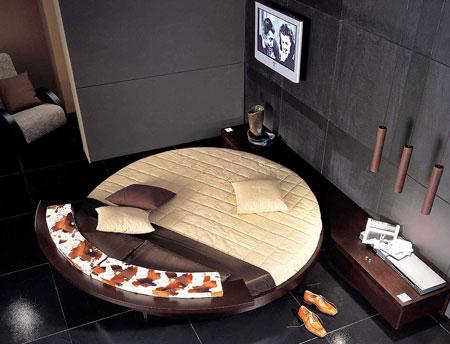 Histoire Round Bed