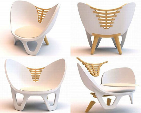 Ilium Chair by Damaris&Marc Design Studio