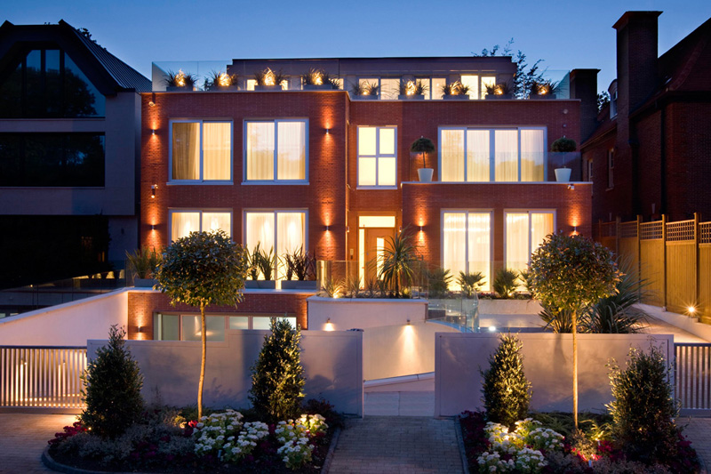 Seven bedroom London home equipped with luxury features