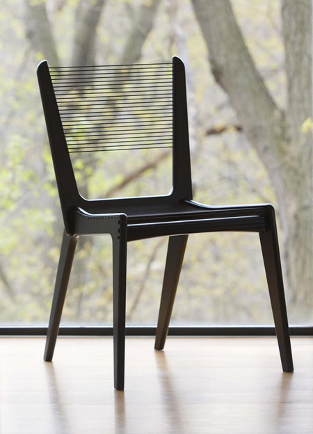 The Cord Chair By Jacques Guillon
