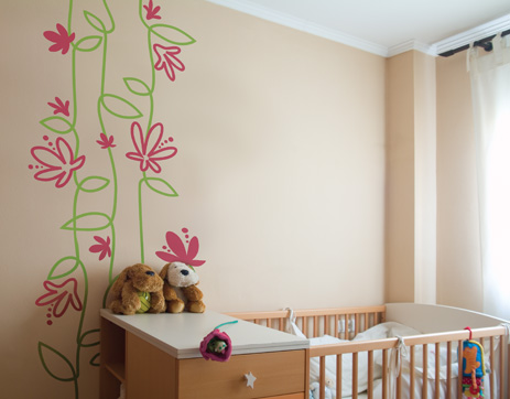 Wall Kids Room Design