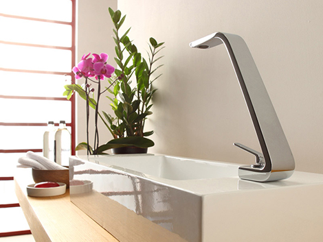 New lever faucet Wolo series by Webert