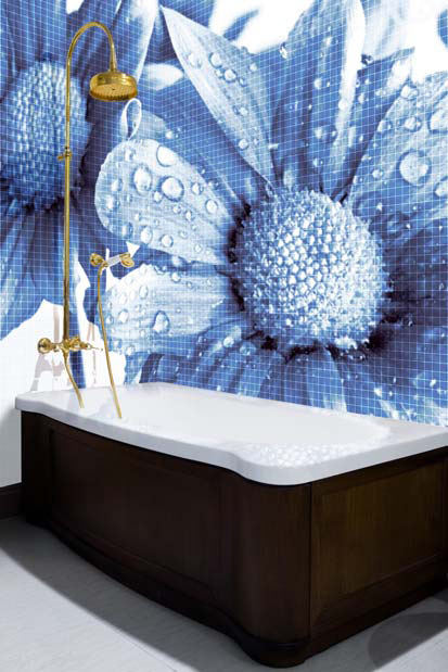 Tile Murals For Bathrooms