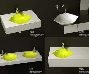 The Lemon bathroom sink – a fresh and simple approach