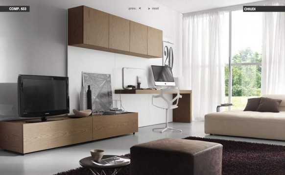 Modern living room furniture than can satisfy even the - Mueble televisor ikea ...