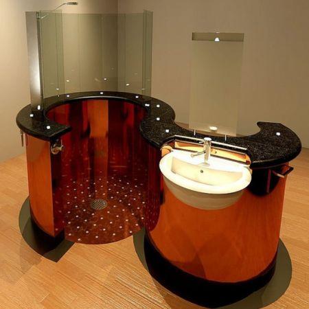 Seahorse Instant Bathroom