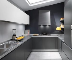 Grey Kitchen Inspiration by Ernestomeda