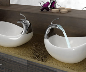 Modern bathroom sinks by Philip Watts Design · Unique Vessel Sinks by Amin Design
