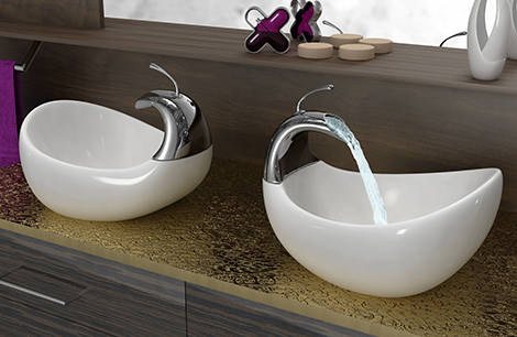 unique sinks bathrooms unique vessel sinks by amin design 14878