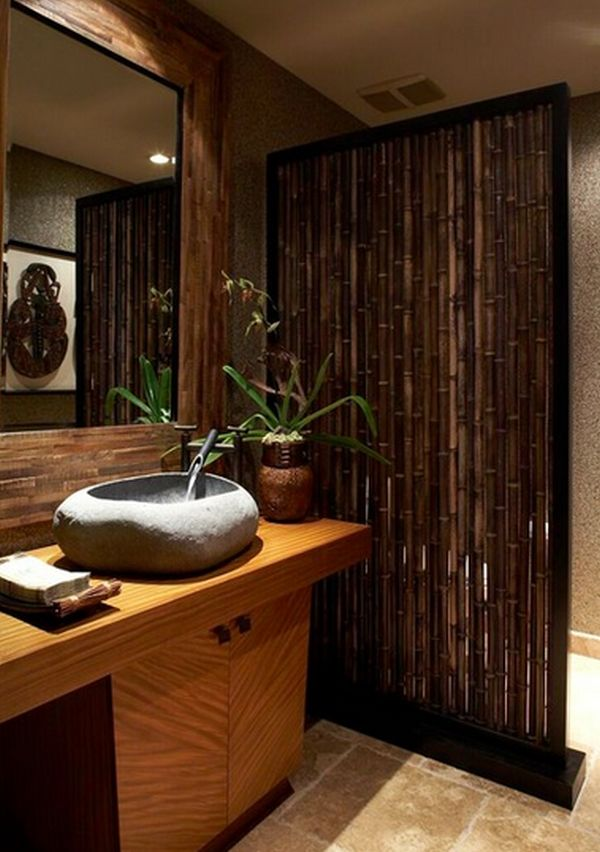 view in gallery - Bamboo Room Decorations