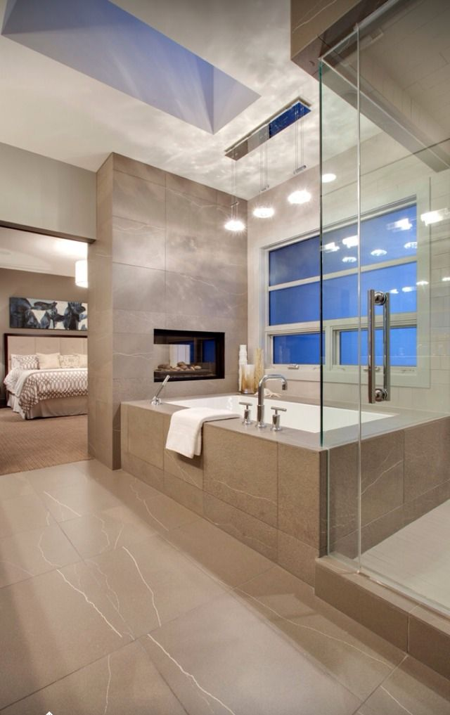 How to increase your bathroom 39 s charm with the right lighting - Jacuzzi de lujo ...