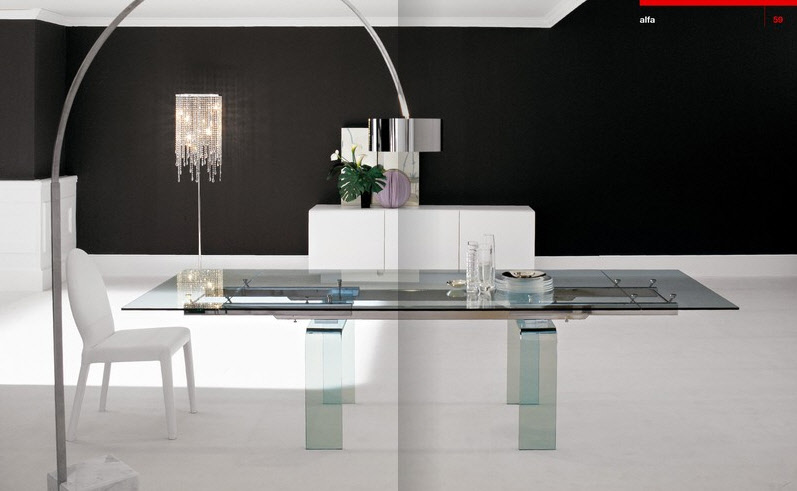 Stylish Dining Rooms From Cattelan Italia