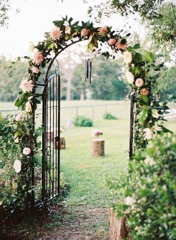 How to design a garden 16 stylish tips for Garden archway designs