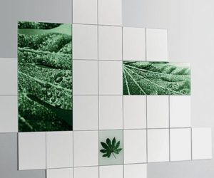 Printed Glass Tiles and Printed Shower Doors by