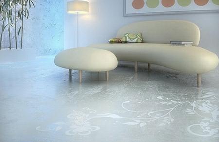 Exceptionnel Elegant Art Floor Design