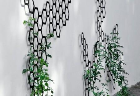Trellis garden design by arik levy for Wire garden trellis designs