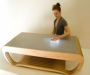 Ripple Interactive LED Coffee Table