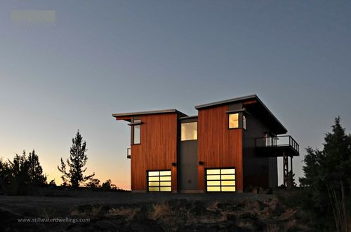 A Beautiful Bend Oregon Green Prefab