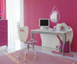 There Are Several Options Presented Here All Of Them Having In Common What Else Than The Pink Color Bedrooms Designed Barbie As Focal