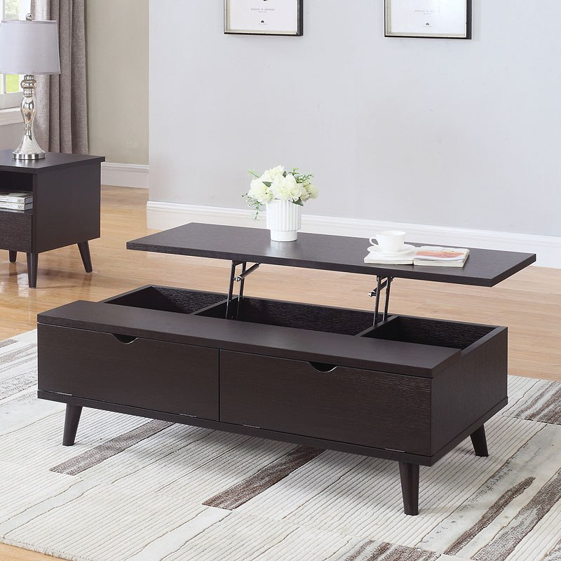 modern tables Built In Dinner Tray Table