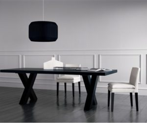 Black Dining Table – Andrea by Casamilano