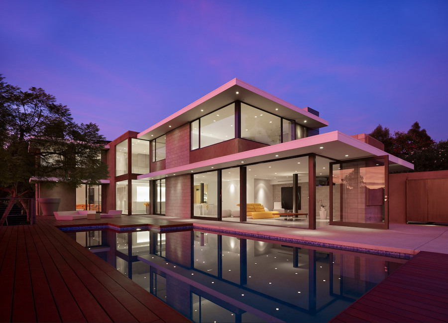 modern contemporary homes designs. Home Decorating Trends  Homedit Contemporary L A house with a breezy design and subtle hues of color